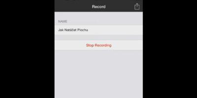 Ako na natáčanie obrazovky v smartfóne