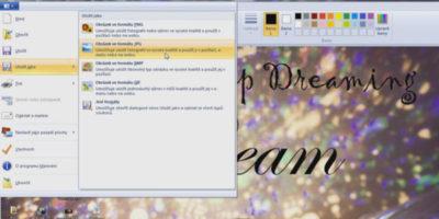 Ako odfotiť obrazovku v OS Windows