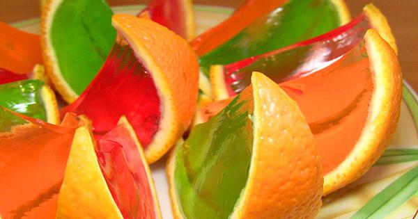 Ako vyrobiť pomarančové želé