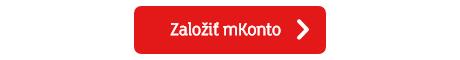 Založiť mKonto od mBank